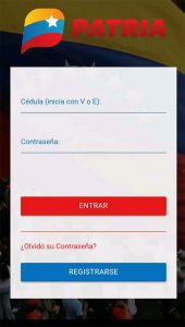 aplicación vePatria