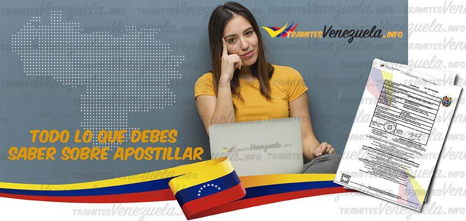 todo sobre apostillar en Venezuela