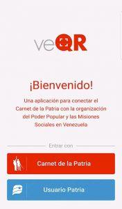 aplicación veQR
