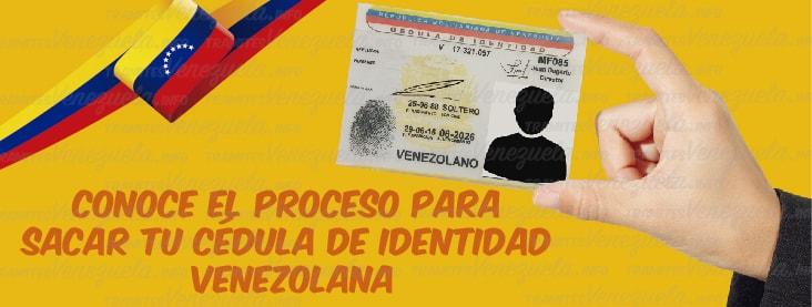 SAIME cédula de identidad venezolana