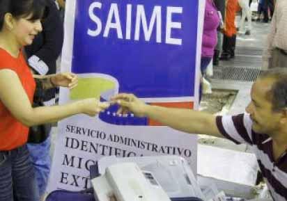 campañas de cedulacion de SAIME
