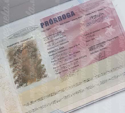 prorroga pasaporte saime