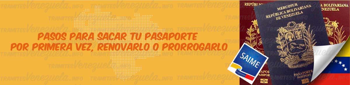 pasos para sacar pasaporte