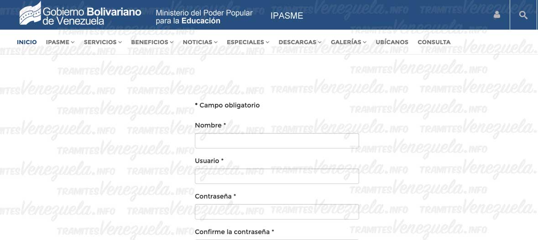 IPASME Registro