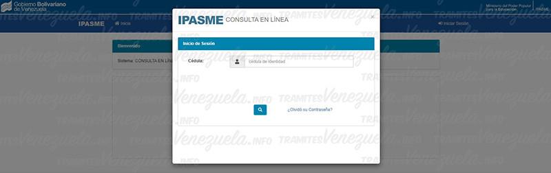 IPASME consulta en línea