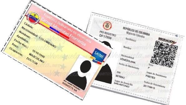 carnet fronterizo