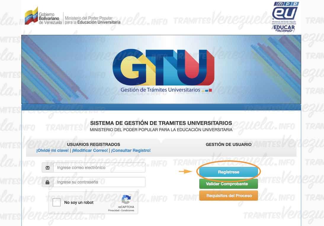 GTU apostillar titulo universitario